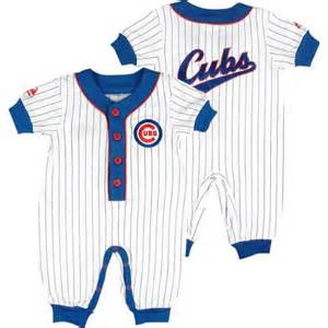 Chicago cubs infant coverall