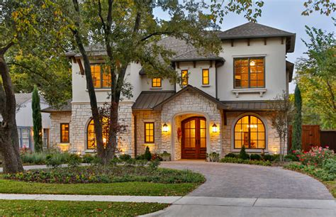 southwestern mediterranean exterior dallas by veranda homes