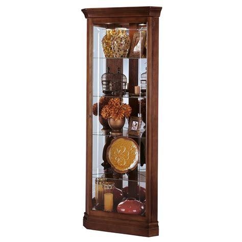 howard miller lynwood corner display cabinet 680345