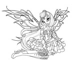 winx club coloring pages bloomix viewing gallery