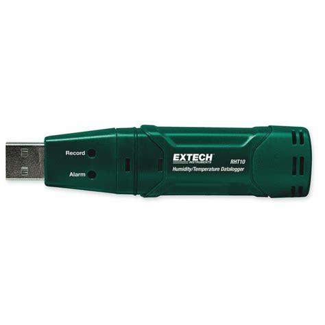 Extech Rht 10 Temperature Humidity Usb Datalogger Rht 10 Temperatur extech temperature and humidity usb data logger rht10 from