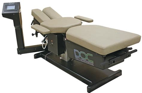 chiropractic traction table doc decompression table phs chiropractic