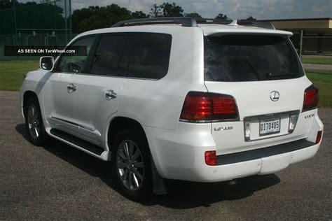 airbag deployment 2010 lexus lx engine control 1 owner 2010 lexus lx570 awd 4wd white loaded gx lx 460 470 570 09 10 11 12