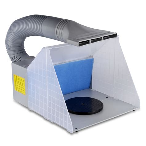 paint booth ventilation fans hobby airbrush spray booth kit exhaust fan filter