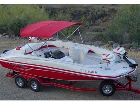 deck boat v8 2007 tahoe 215 fish and ski deck boat v8 boats