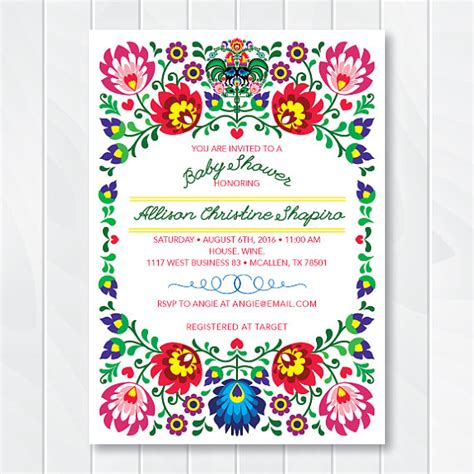 Cinco Shower by Cinco De Mayo Invite Baby Shower By Thencomespaper On Etsy