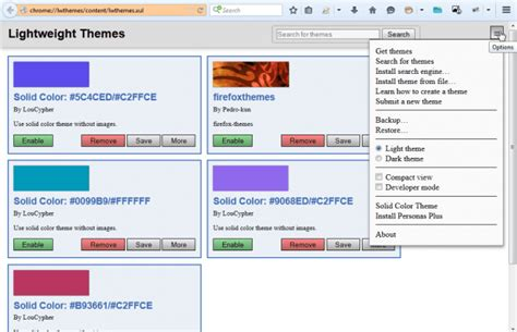 themes firefox solid how to use custom solid color themes in firefox tip