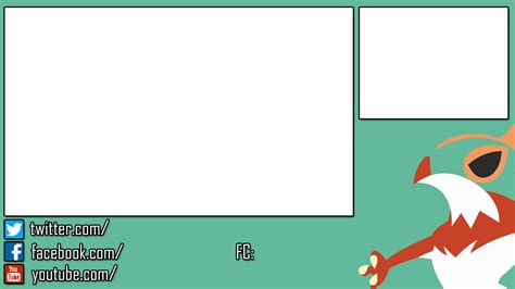 imagens layout youtube hawlucha stream overlay for 3ds by nextphasedesign on