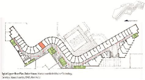K Residence Floor Plan by Homeless Sydney Precedent Studies Baker House Mit