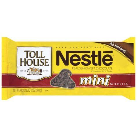 nestle toll house nestle toll house semi sweet mini morsels 12oz 340g american food store