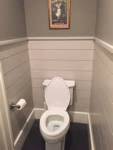 Shiplap Walls In Bathrooms Ship Bathroom Toilets Powder And Closet