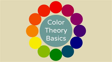 color theory basics color theory basics youtube