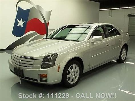 Cadillac Ctr by Find Used 2007 Cadillac Cts V6 Sunroof Leather Cruise Ctrl