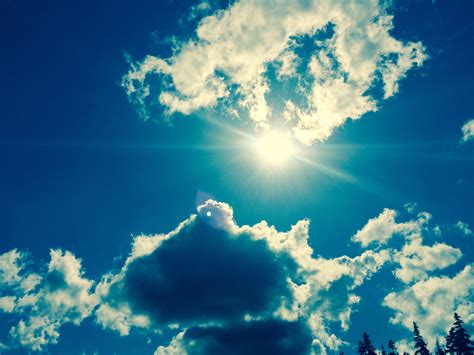 earth atmosphere blue bright clouds wallpaper free images nature horizon light cloud sky sun