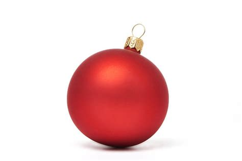 Delightful Christmas Clear Lights #4: Red-christmas-ball-isolated-picture-id489866066?k=6