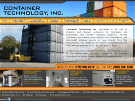 Planter Technology Inc by Containertech Container Technology Inc Shipping
