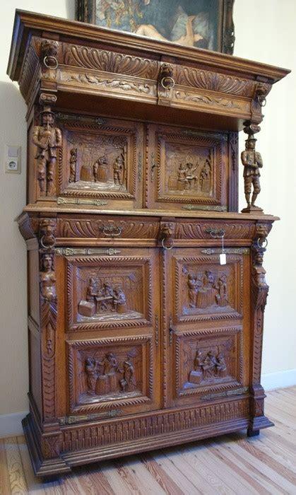 kredenz antik buffet kredenz historismus eiche massiv 1850 antik schrank