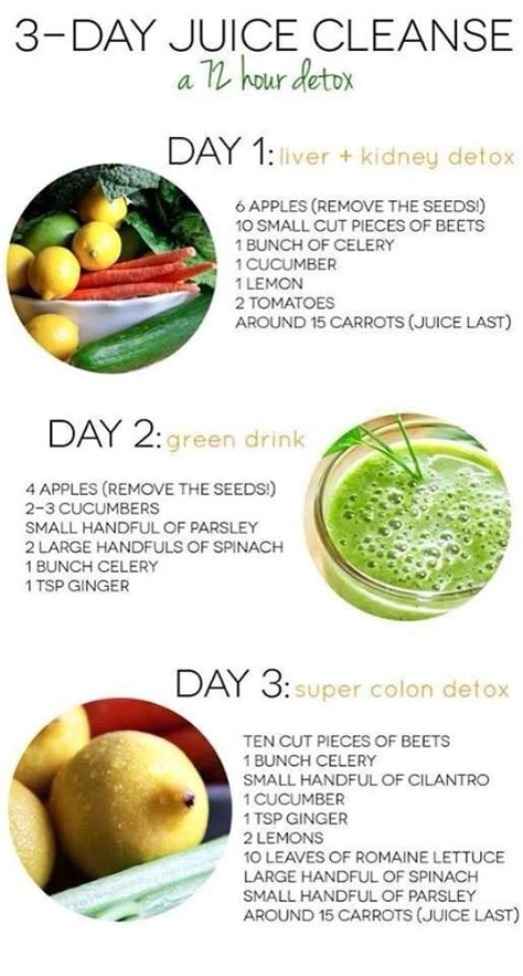 Juice Plus 14 Day Detox by 3 Day Juice Cleanse Weight Loss Ftempo