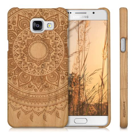 Bumper Stitched Leather Softcase Hardcover For Samsung Galaxy S7 Flat kwmobile wood cover for samsung galaxy a5 2016 back