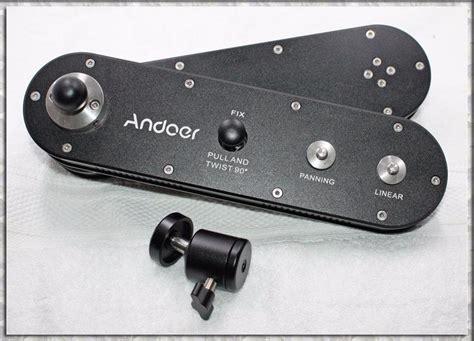 Slider Kamera Andoer Gt V70 andoer gt v70 233 ra portable slider avec mouvement