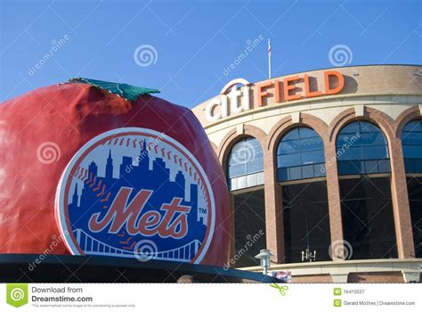 citi field home of the mets editorial photography image