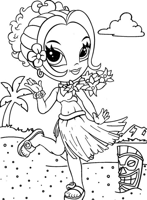 Free Coloring Pages Of Lisa Frank Angel Kitty 9032 Franks Coloring Pages