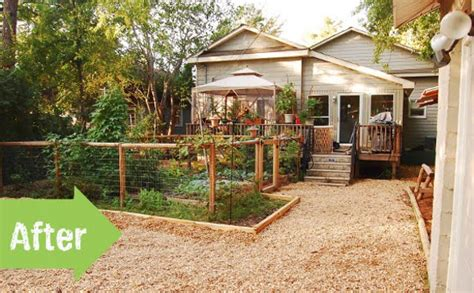 backyard homesteading before after a new backyard for an urban homestead