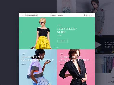 12 Best Fashion Website Templates Psd Utemplates Fashion Website Template