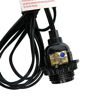 Pendant Light Socket Kit Single Socket Pendant Light Cord Kit For Lanterns11ft Ul Listed Black B004oa162i Ebay