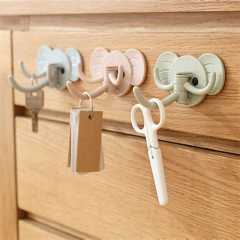 cute coat hooks cute elephant nose hook kitchen bathroom hat coat clothes