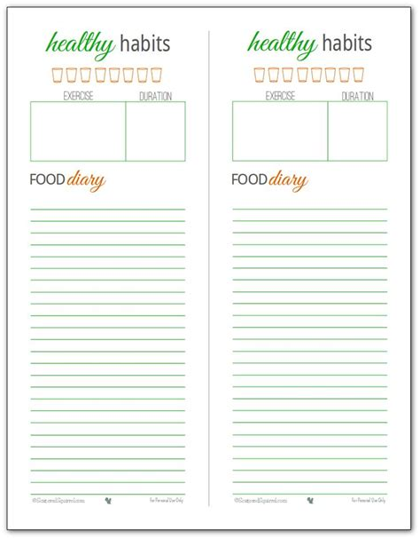 printable running journal 27 best images about food logs on pinterest food log