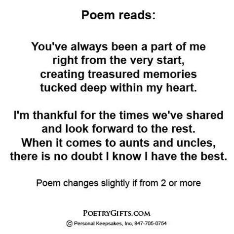 valentines day poems for aunts and gift