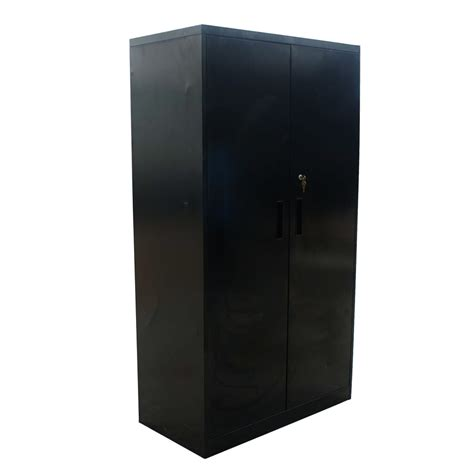 Black Storage Cabinet With Doors Midcentury Retro Style Modern Architectural Vintage Furniture From Metroretro And Mcm Consignment