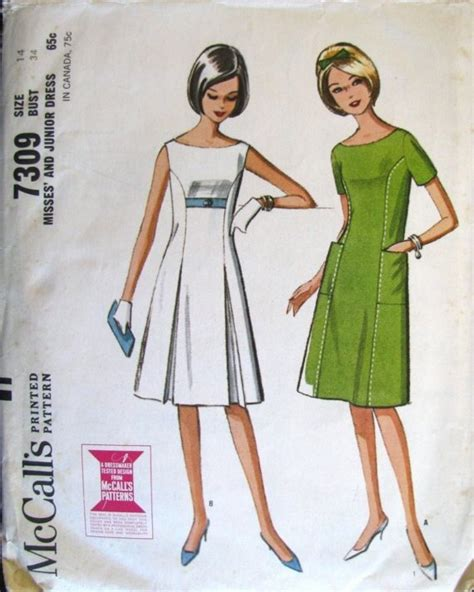 boat neck dress pattern uk 1960s vintage sewing pattern a line dress with boat neck