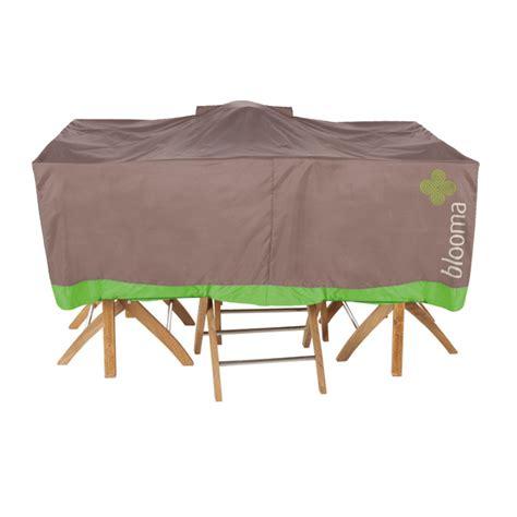 protege table de jardin housse mobilier de jardin 170 x 110cm taupe castorama