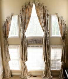 Arch Window Curtains Curtains Or Drape For Curved Window Curtain Design