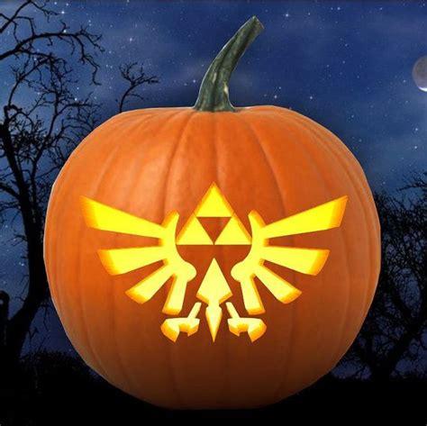 zelda pumpkin pattern legend of zelda triforce emblem pumpkin carving pattern
