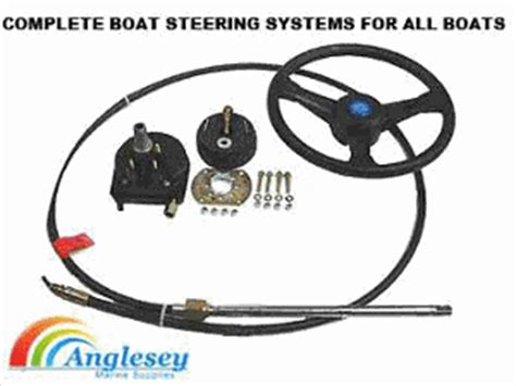 marine cable steering helm boat steering kit wheels cables hydraulic outboard boot
