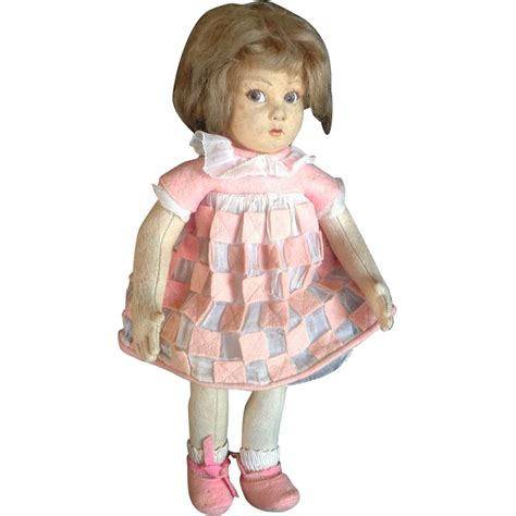 lenci doll collector all original lenci felt doll handpainted and pictured