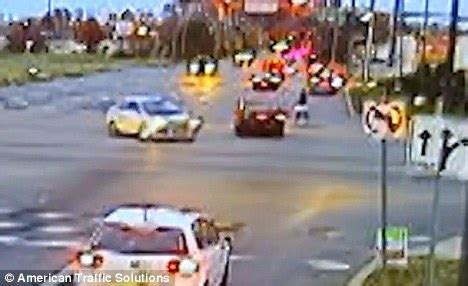 don't jump red lights! video shows a year of reckless