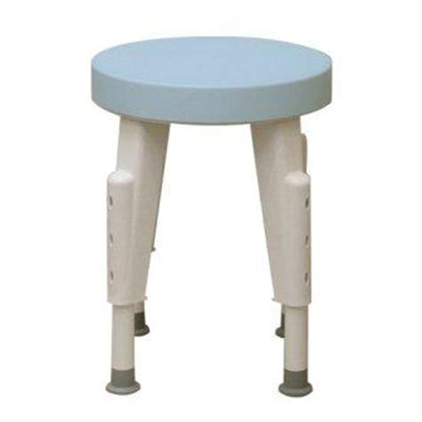 Shower Stool by Rotating Shower Stool Height Adjustable Swivel Seat