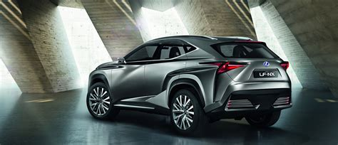 lexus lf nx debut for lexus lf nx turbo suv concept at tokyo motor show