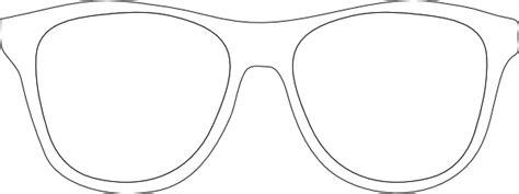 printable template sunglasses printable glasses template black and white sunglass