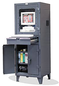 Computer Cabinet With Lock by Computer Workstation Lockable Computer Cabinet