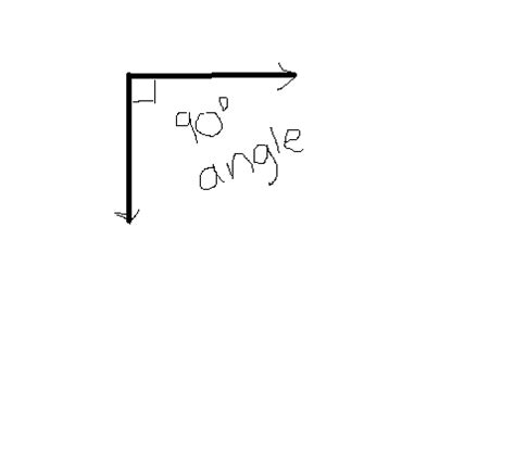 Drawing 90 Degree Angle by Easy Tool To Help Study Math Concepts