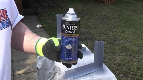 The Best Gold Spray Paint - how to paint metal rustoleum youtube