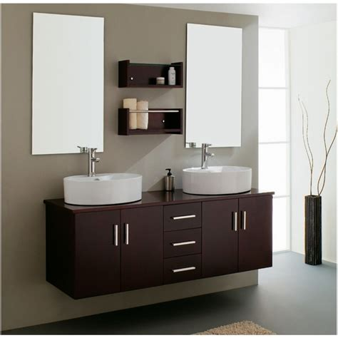Bathroom. Make Stylish Bathroom, Add Floating Vanity