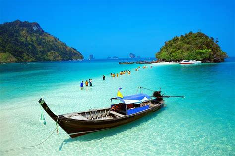 bangkok to krabi by boat krabi 4 islands tour by long tail boat snorkeling tour