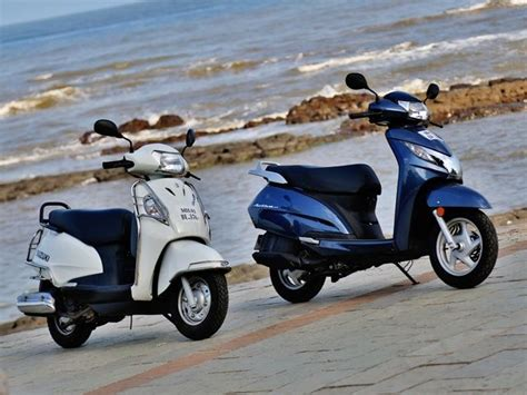 Compare Suzuki Access And Honda Activa Honda Activa 125 Vs Suzuki Access 125 Comparison Review