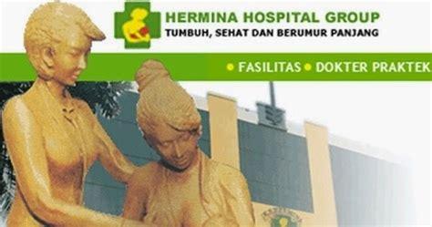 alamat rsia hermina di wilayah jabodetabek